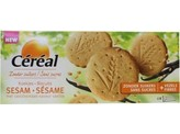 Cereal Sesam vanille koek