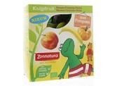 Zonnatura Knijpfruit banaan/pompoen/perzik kikker 85 gram
