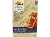 Cereal Cracker rijst kastanje bio