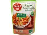 Cereal Ravioli tofu tomaat basilicum