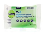 Dettol Wipes 2 in 1