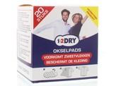 1-2DRY Okselpads medium wit