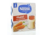 Nestle Pyjamapapje wortel 250 gram