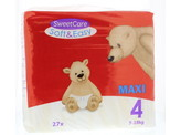 Sweetcare Luiers Soft & easy maxi nr 4 7-18 kg