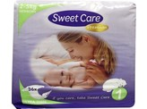 Sweetcare Premium newborn maat 1 2-5kg