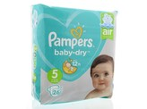 Pampers Baby dry junior S5 midpack