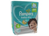 Pampers Baby dry XL 6 midpack