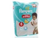 Pampers Baby dry pants maat 6