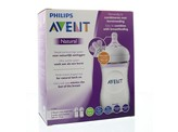 Avent Zuigfles natural 260 ml inclusief speen
