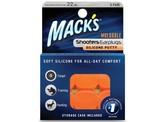 Macks Shooters moldable earplugs orange