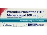 Healthypharm Mebendazol / wormkuur