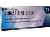 Pharmachemie Cinnarizine 25 mg