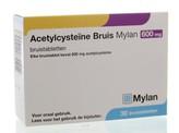 Mylan Acetylcysteine 600 mg bruis