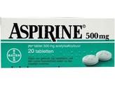 Aspirine Aspirine 500 mg