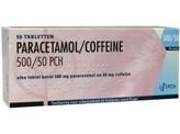 Pharmachemie Paracetamol coffeine 500/50