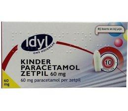 Idyl Paracetamol kind 60 mg