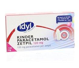 Idyl Paracetamol kind 120 mg