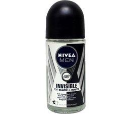 Nivea Men deodorant invisible black roller