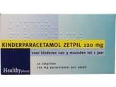 Healthypharm Paracetamol kind 120 mg