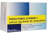 Healthypharm Paracetamol & vit C