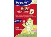 Dagravit Vitamine D tablet kids