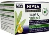 Nivea Pure & natural nachtcreme