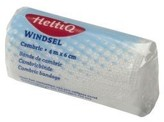 Heltiq Cambric windsel 4 m x 6 cm
