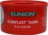 Kliniplast Kliniplast hechtpleister 5 x 2.5 cm met ring