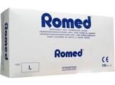 Romed Vinyl handschoen niet steriel gepoederd L