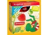 Zonnatura Knijpfruit appel/aardbei kikker 85 gram