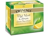 Twinings Green lemon envelop