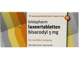 Leidapharm Bisacodyl laxeer 5 mg
