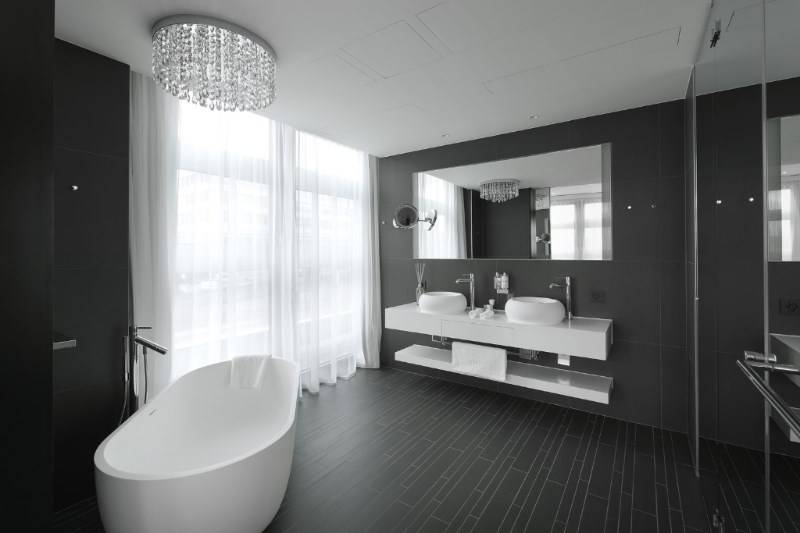 Marike in all of the 245 hotel rooms of the prestigious Kameha Zurich