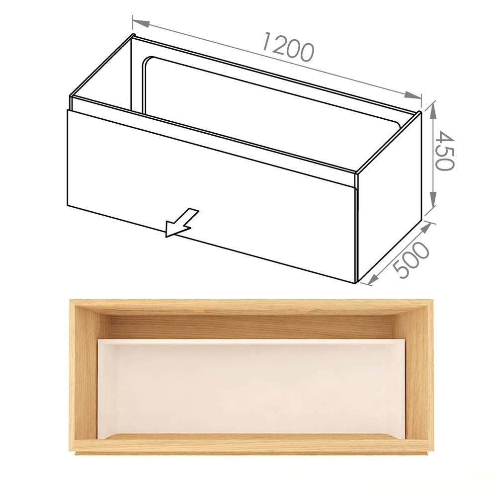 Simple 120x50x45 D