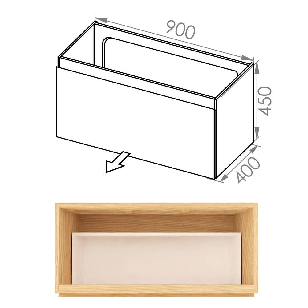 Simple 90x40x45 D