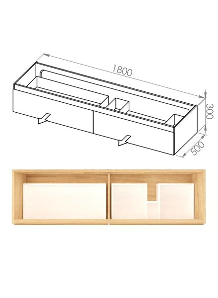 Simple 180x50x30 DUD