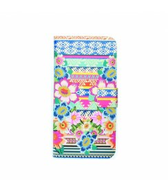 Aztec Floral - book case (iPhone 6/S)