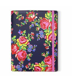 "Navy Rose - tablet case (7/8"")"