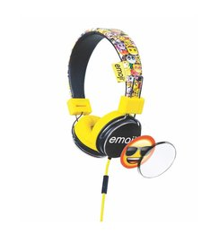 Flip & Switch kids headphone - Yellow