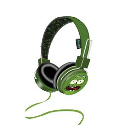 Pickle Rick headphones