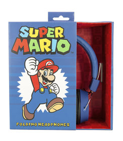 Mario & Luigi - folding koptelefoon (8j+)