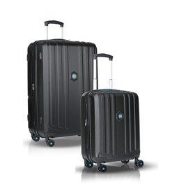 "1+1 Suitcase set (28""/20"") - Black"