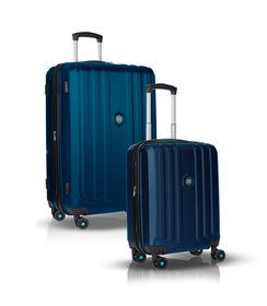 "1+1 Suitcase set (28""/20"") - Dark blue"