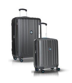 """1+1 Suitcase set (28""""/20"""") - Titanium"""