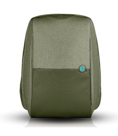 "anti-theft backpack - Olive (17""/16L)"