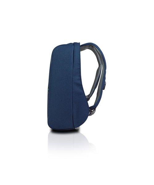 "MetroBag anti-theft backpack - Navy Blue (15""/13,6L)"