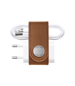 leather iPhone organizer (Tan)