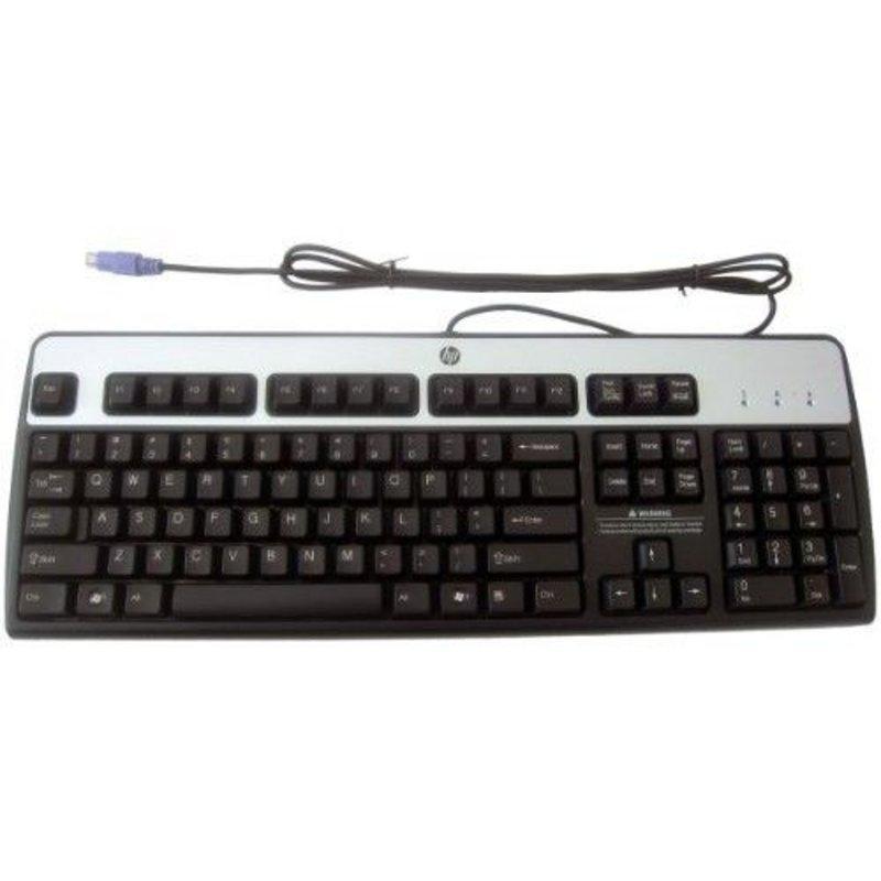 HP HP PS2 Bekabeld toetsenbord