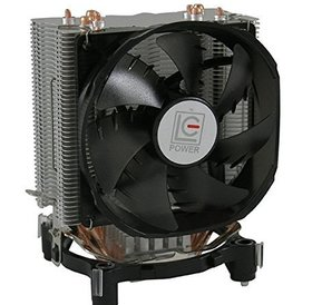 Overig LC Power Universele CPU Cooler met verlichte fan Geschikt voor Intel en AMD