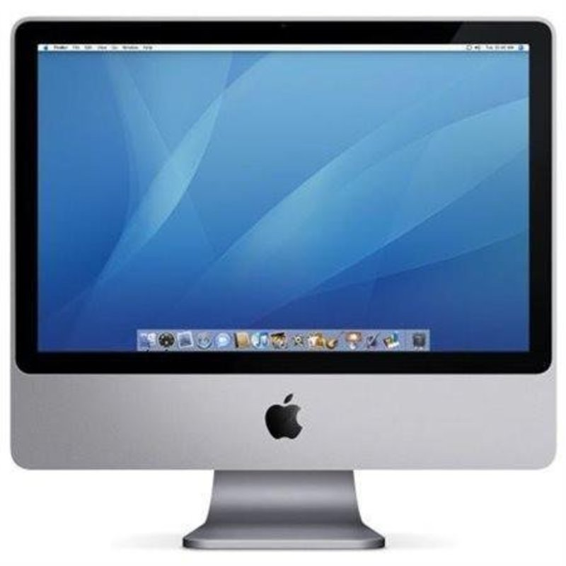 Apple Apple | Imac A1224 |  20 Inch | Core2duo | Mini Display poort | Webcam | DVD speler en brander